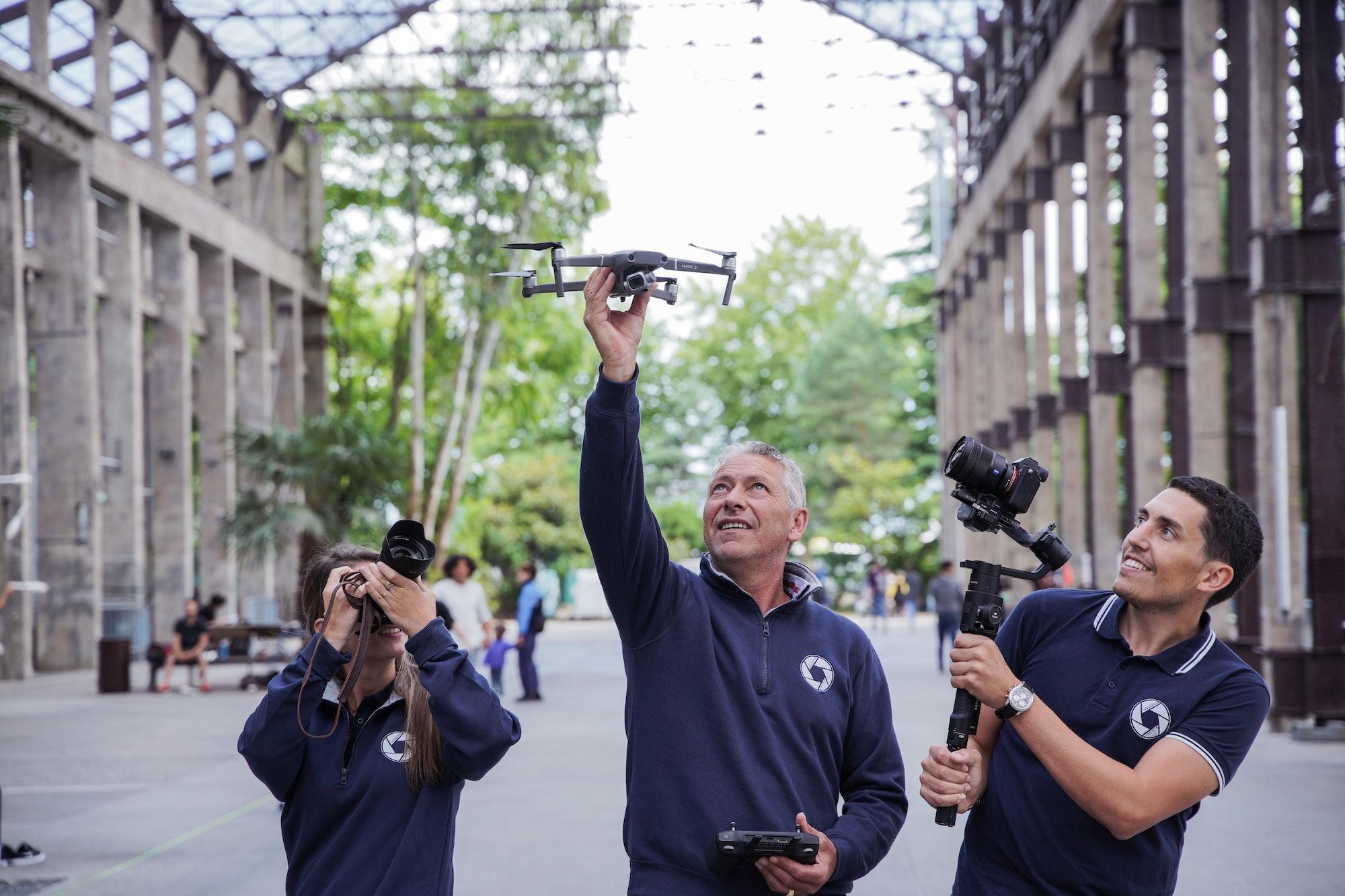 société de production vidéo nantes réalisateur de films d'entrepris vidéo de mariage photographie de mariage prises de vues par drone